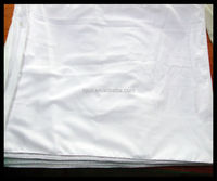 80 polyester 20 cotton pocking quality bleach white fabric