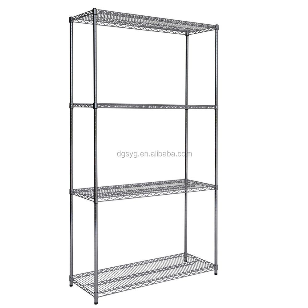Chrome Basket Bays Shelving Chrome Basket Shelving