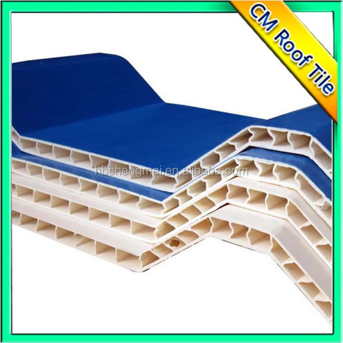 Environment Friendly Wave Hollow Roof Tile Sandwich Panel