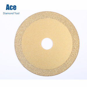 100mm Brazed Diamond Flat Polishing Grinding Cutting Disc Cut Off Wheel for Angle Grinder 16mm or 20mm