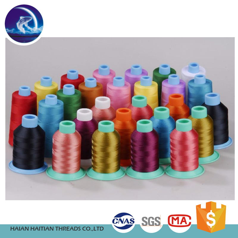 bright 100% cotton sewing thread for clothes in china