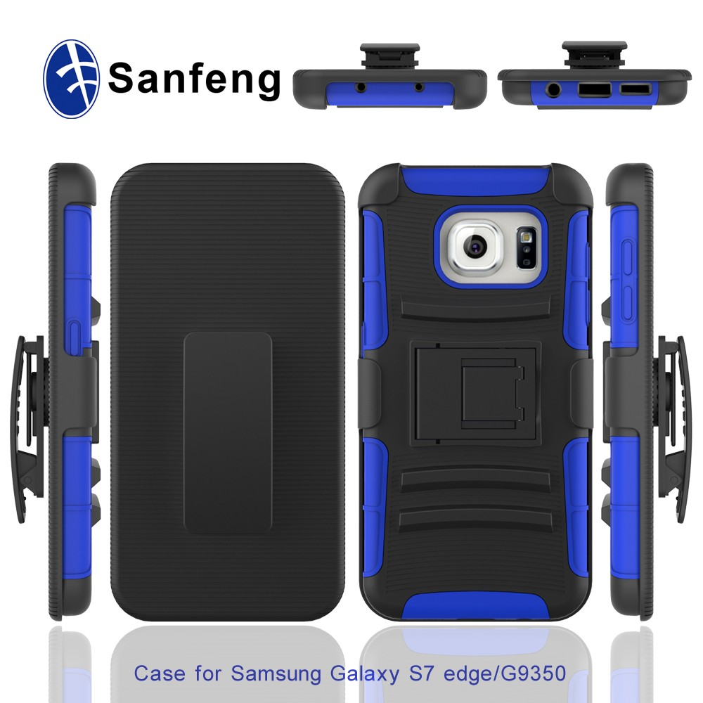 Competitive price anti-shock case for Samsung S7 Edge handphone cover