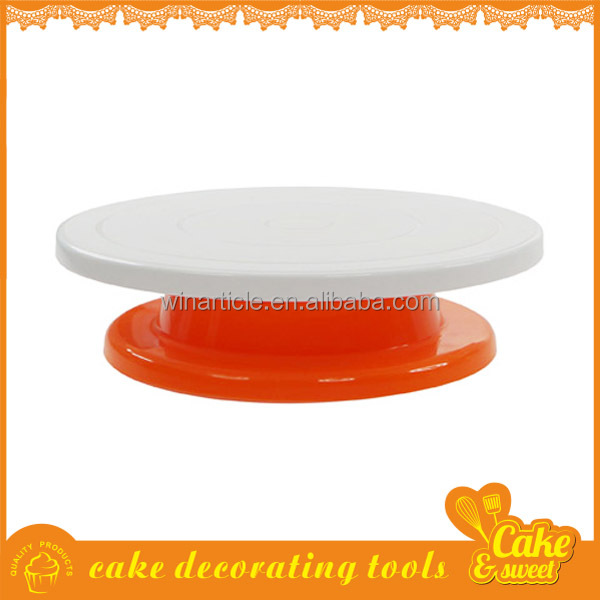 Fondant Cake Tools Plastic Cake Decorating Stand,Turntable