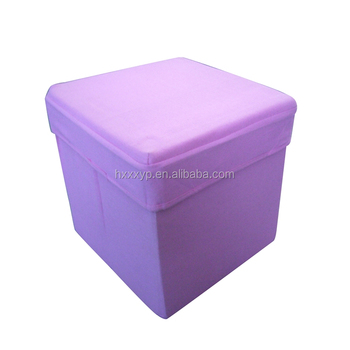 2017 Best Square Plastic Chair Foldable Ottoman