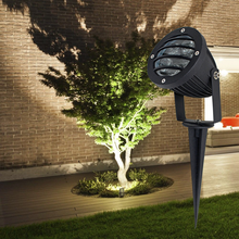 5W Epistar chip high lumen outdoor die casting aluminum IP65 led garden spike light