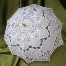 victorian battenburg lace parasol umbrella