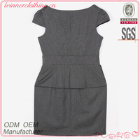 China fashion garment factory new designs fat women dresses pictures