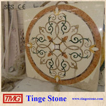 High Grade Water Jet Marble Medallion for Interior projects