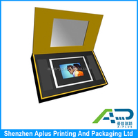 High quality digital photo frame packing box, digital photo frame gift box, solid gift box for digital photo frame
