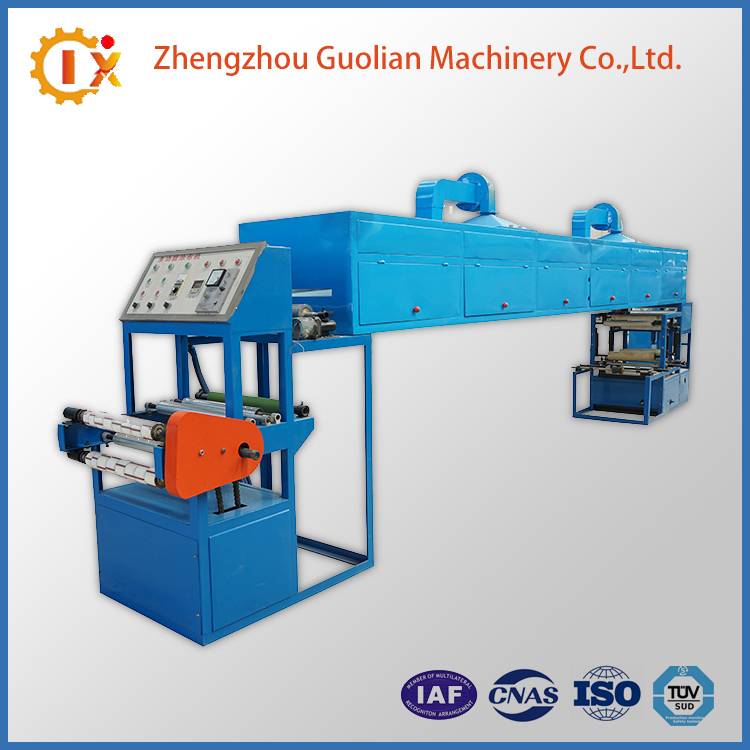 Fully Automatic Packing Gum Tape Coating Machine