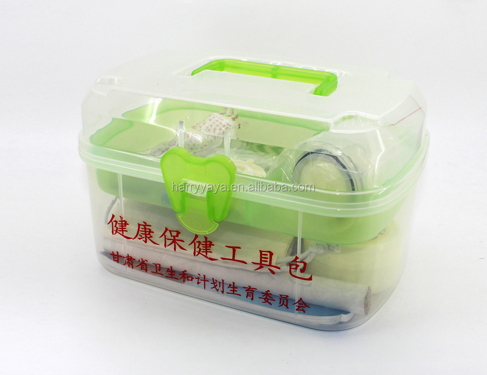 Eco Friendly High Quality Promotional Plastic Health Care Storage Box Containers