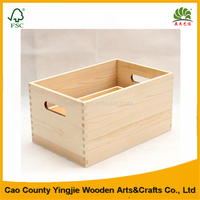 Yingjie craft small wood crates with great price