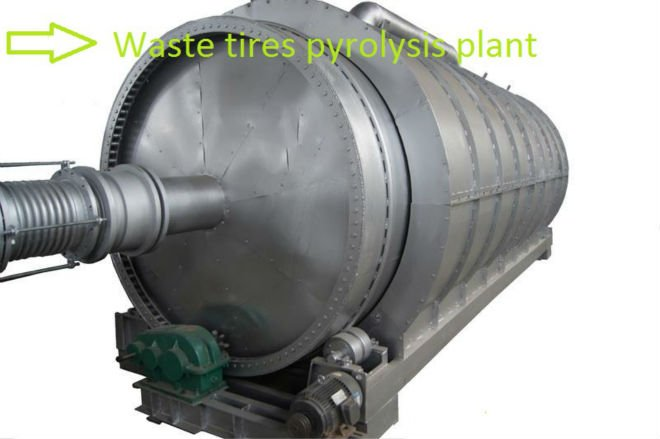 Scrap Tyre Recycling Plant
