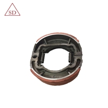 Factory hot sale AX100 motorcycle OEM brake pad shoe