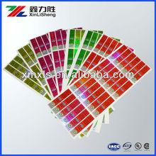 Custom sheet food plastic brand label, label printing