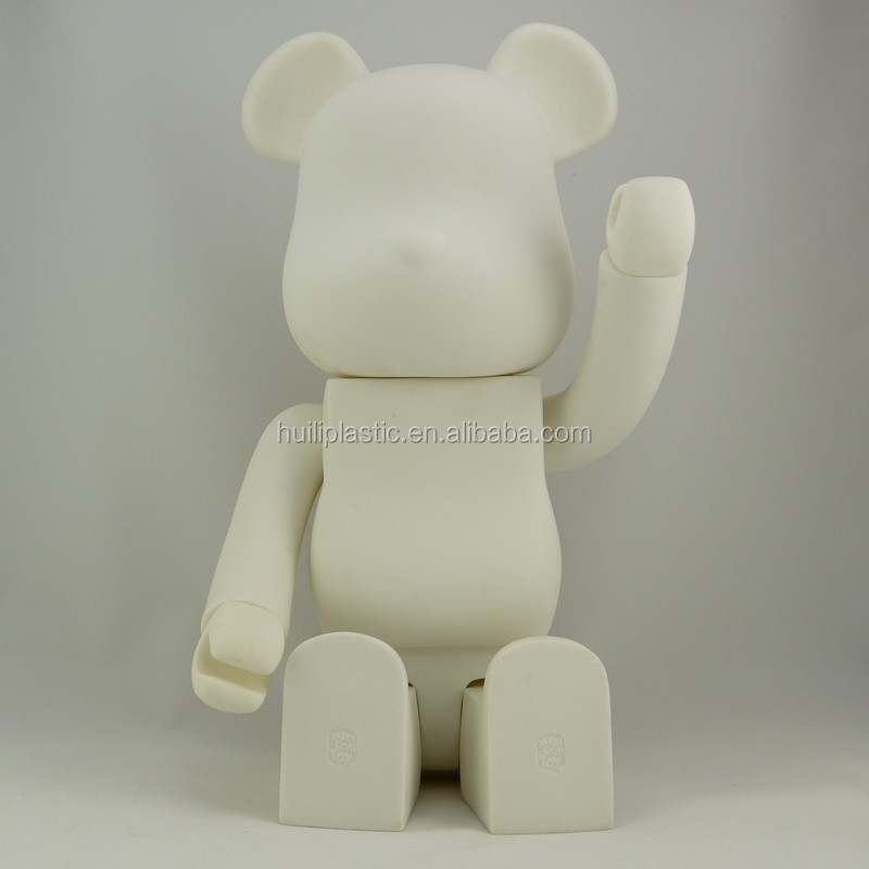 1000% bear brick wholesale vinyl toys,big size bear brick custom pvc vinyl toy, huge size vinyl toys wholesale