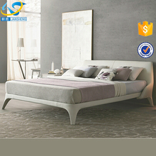 Super king size bed frame modern bedroom furniture leather bed frame fancy bed design