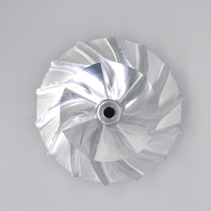 High Performance TP38 GTP38 Turbo Billet Compressor Wheel 170293 CNC Machined 7+7 Blades Extended Wheel