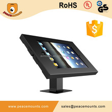 android anti theft tablet pos desk or floor stand for 7-14 inches tablets