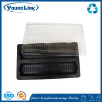 egg trays for sale plastic tray for eggs/clamshell chicken egg trays with 8 holes