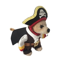 pirate clothes alike out- Grasping dog of clothes