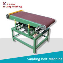 2100mm *180mm wood sanding machine abrasive belt sander automatic.