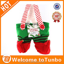 Christmas Decoration elf stocking elf treat bag