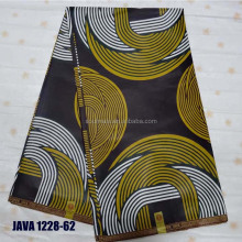 JAVA 1228-62 Home textile mix color durable cotton material ankara fabric african wax print