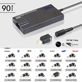 Hot selling Charger 90w Ultra slim Automatic universal laptop ac adapter with USB port