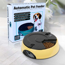 6Meal Digital Lager Capacity Automatic Pet Feeder for dogs&cats with LCD display
