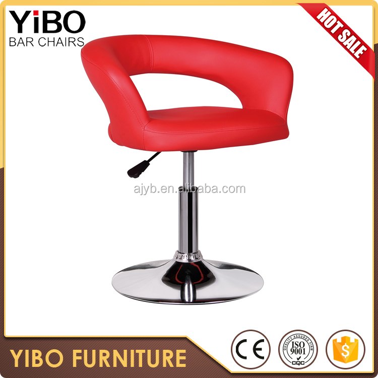 Simple leather chair outdoor furniture for restaurant