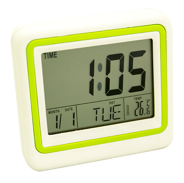 2017 newest model mini thermometer desk clock