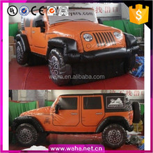High quality advertising giant inflatable jeep car