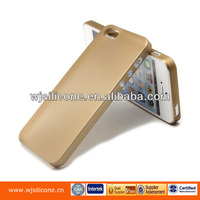 Professional Plastic Golden Phone Case 0.35mm PP Cover For IPhone 5S Factory