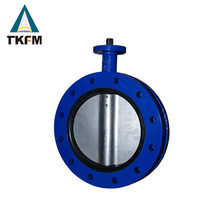 TKFM Chinese valve supplier weight of butterfly valve manual actuator dn50 pn16 top sales valve industry