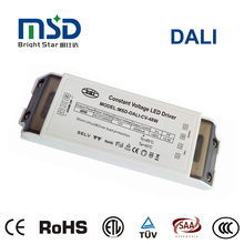 CE TUV SAA ETL 48w DALI constant voltage dimmable led driver 900ma, 1050ma, 1200ma, 1500ma, 1800ma with 5 years warranty