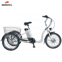 20Inch Adult Single Speed Steel Fork Electric Tricycle