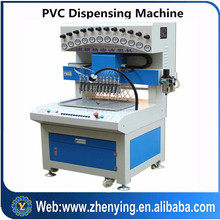 automatic pvc pen drive cover making machine with 12 colors