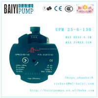 HAVC BLDC Pump for Heating and HAVC System save energy circulation UPM 25-6 hot water pump