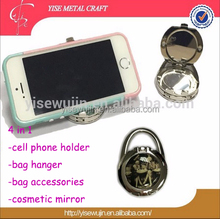 Epoxy Sticker Filp Cover Foldable Multi-function Holder for Table Desk Purse Handbags Bags Cell phone Mobile Bag Accdessory