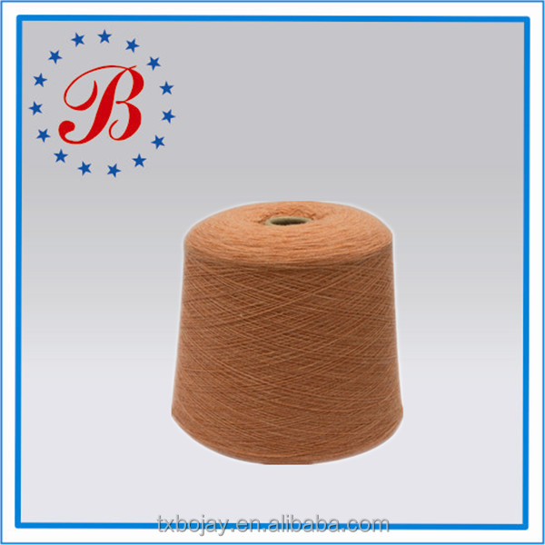 China Supplier Dyed Melange Color for Knitting and Weaving Wholesale Nm26/1100% linen yarn long fiber