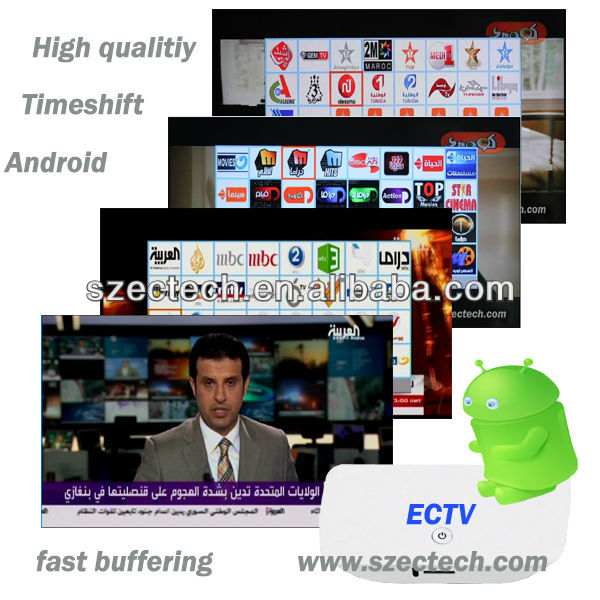 ECTV arabic iptv online tv live streaming service