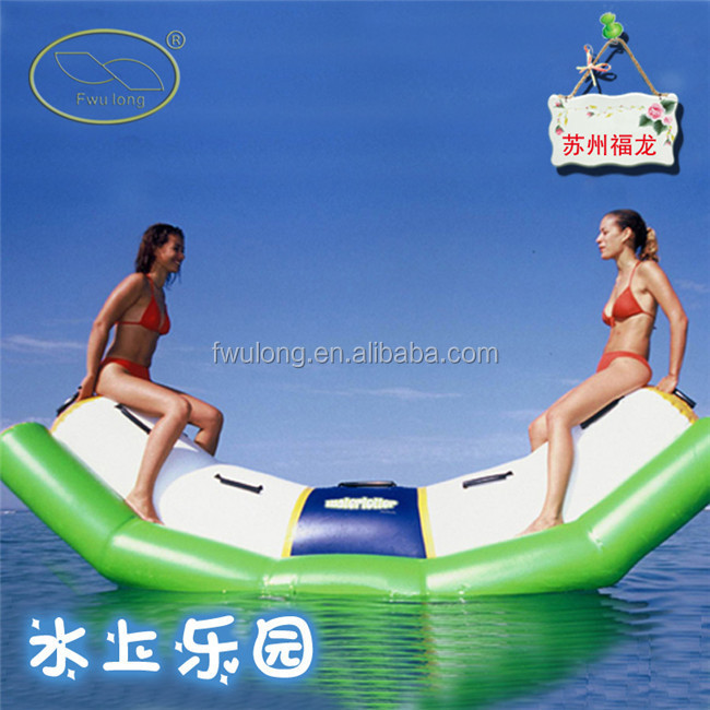 Large Open Water Swim Buoy - Safe Swimming Float water game seesaws