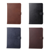 8-inch tablet leather case,Sleep Wake Leather Wallet Folio Tablet Case for ipad mini4