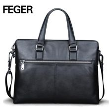 Online shopping men leather bag china supplier laptop bag men leather bag