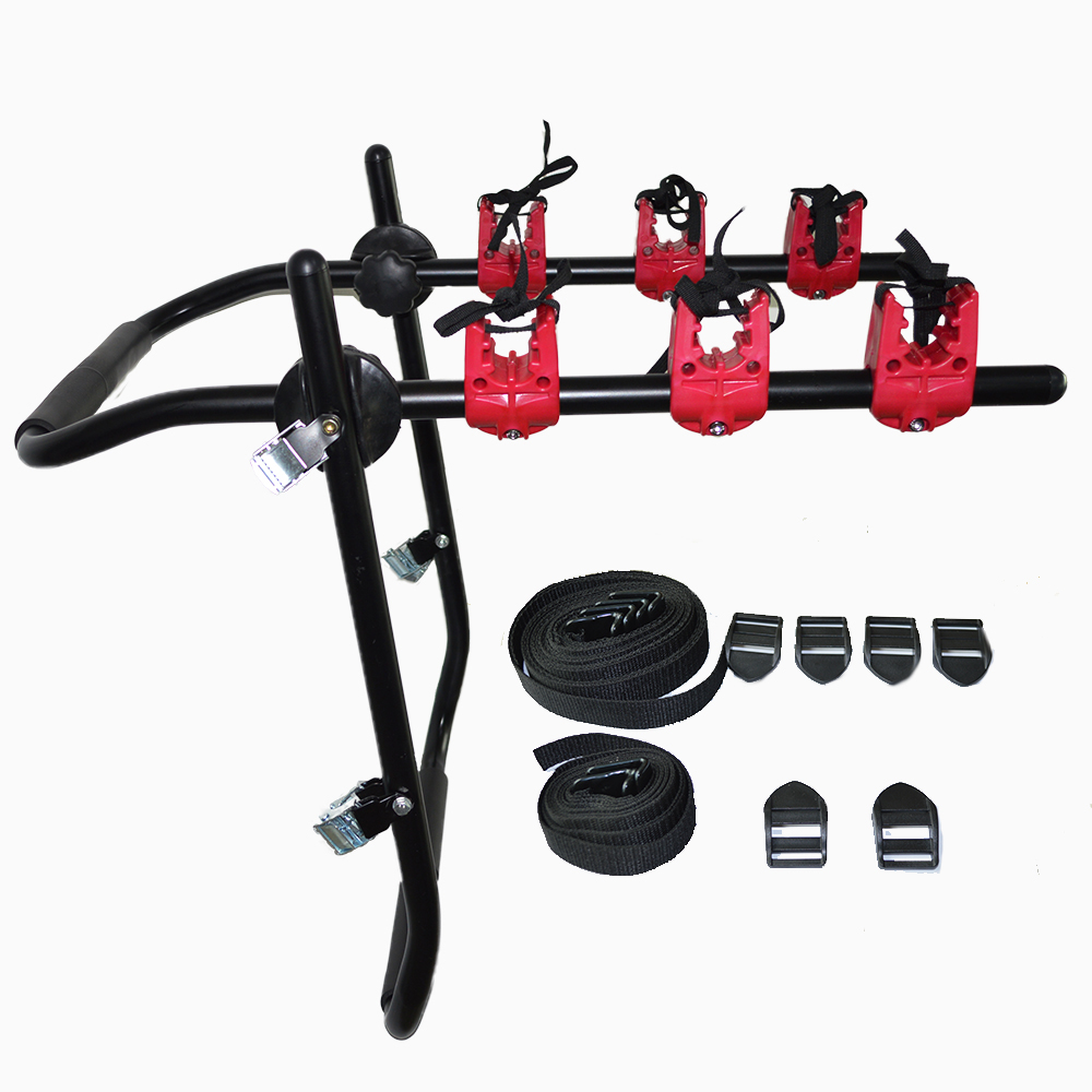 3 Bicycle Mounted Car Bike Rack Carrier