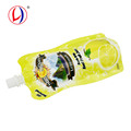 Optional Compound Material 200ml Drink Squeeze Standing Pouches With Spout