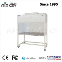 anti-static powder coated paint vertical laminar flow hood/clean bench with uv lamp