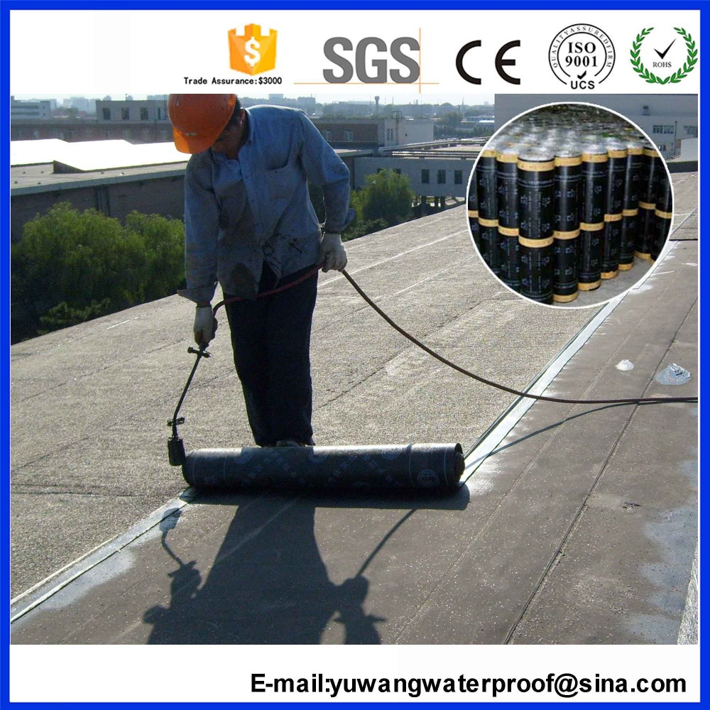 China Supplier Self-adhesive Modified Bitumen Waterproofing Membrane