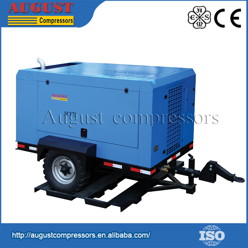 SCY75 AUGUST Professional Maker Mobile Air Compressors